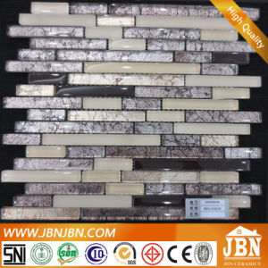 New Design Wall Golden Tinfoil Glass Mosaic (G855020) pictures & photos