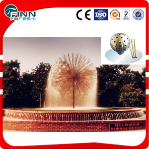 Rolling Ball Water Fountain Design with Dandelion Shape Nozzle pictures & photos