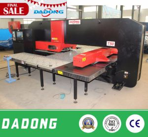 CNC Plate Punching Line/Low Price/High Quality Punching Machine pictures & photos