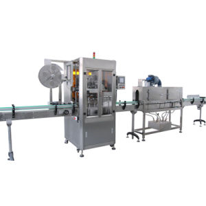 Automatic Jars Shrink Sleeve Labeling Machine pictures & photos
