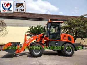 China Qingzhou Small Front End Wheel Loaders Hzm916s Zl16 1.6ton Loader pictures & photos