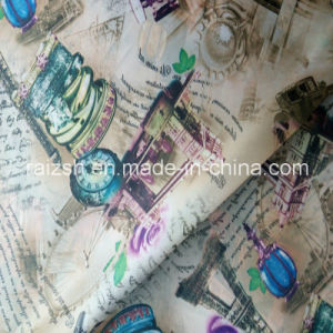100% Polyester Fashionable Printed Taffeta Lining Fabric pictures & photos