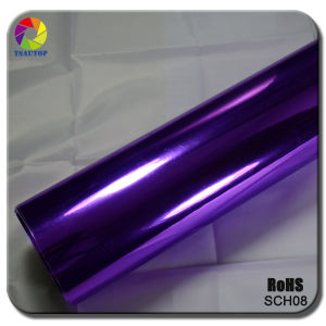 Tsautop 2015 Top Quality Purple Chrome Mirror Car Wrap Vinyl pictures & photos