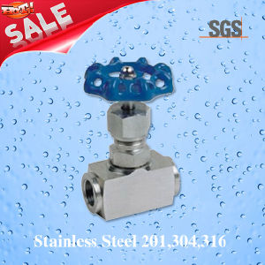 Threaded 5000psi Stainless Steel Needle Valve, Stainless Steel J23W Needle Valve pictures & photos