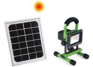 2014 Innovative LED Portable Flood Light, LED Outdoor Emergency Light, LED Rechargeable Solar Flood Light