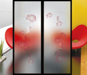 2mm - 19mm Thickness Tempered Acid Etched Glass with Elegant Decoration pictures & photos