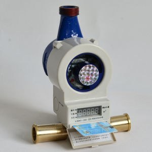 Vertical Dual Mode Automatic Meter Reading Prepayment Residential Water Meter pictures & photos