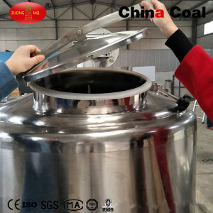 Stainless Steel Vertical Bulk Milk Cooling Storage Tank pictures & photos