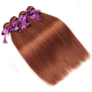 Brazilian Straight Hair 100% Human Hair #33 Brazilian Hair Extension pictures & photos