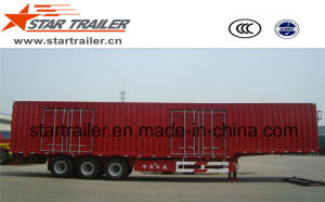 3 Axles Van Type Cargo Trailer pictures & photos
