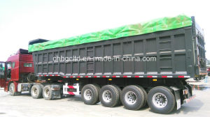 High Quality 3 Axle Dump Semi Trailer for Sale pictures & photos