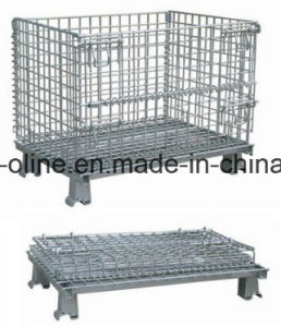 Folded Metal Bulk Storage Cage (1000*800*840) pictures & photos