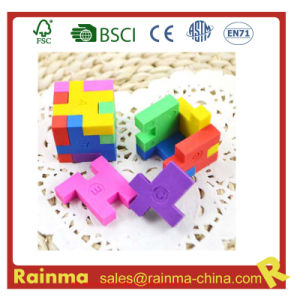 3D Magic Puzzle Eraser for Promotion Gift pictures & photos