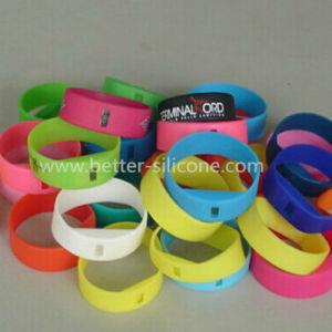 Elostomer LSR Liquid Silicone Smart Watch Bracelet (LSR) pictures & photos