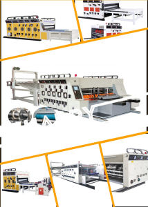 High Speed Automatic Corrugated Flexo Printing Slotting Die Cutting Machinery pictures & photos