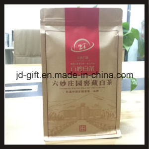 High Quality Kraft Paper Stand up Zip Lock Bag pictures & photos