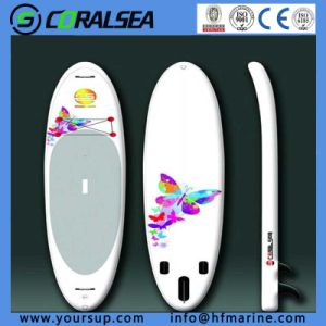 "PVC Surfing board for Women Windsurf for Sale (Forlady10′6""-B) pictures & photos"
