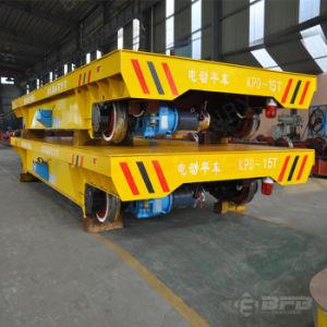 Cast Steel Wheel Motorized Transport Cart for Workshops Cargoes Handling pictures & photos