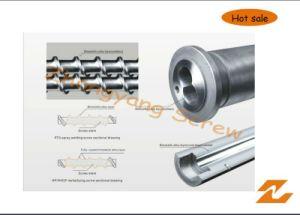 Bimetallic Bimetal Screw and Barrel with Long Working Life pictures & photos