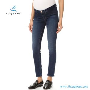 Customized Strecth Denim Maternity Jeans Leggings for Women pictures & photos
