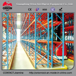Warehouse Storage Very Narrow Aisle Pallet Racking pictures & photos