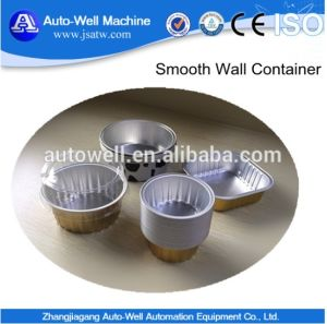 High Quality Coated Smooth Airline Wall Aluminum Foil Container Cardboard Lid pictures & photos
