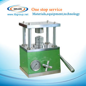 Coin Cell Compact Hydraulic Crimping Machine Gn-Msk-110 for All of Button Cell Sealing pictures & photos