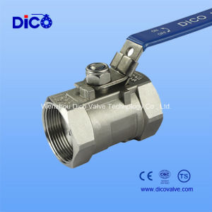 1PC Ball Valve with Locked Hanld pictures & photos