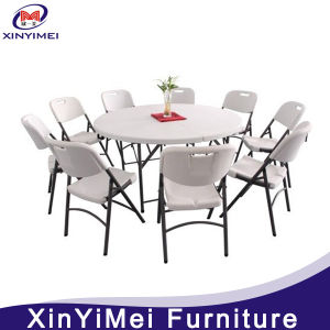 Classy Plastic Folding Table for Outdoor (XYM-T101) pictures & photos