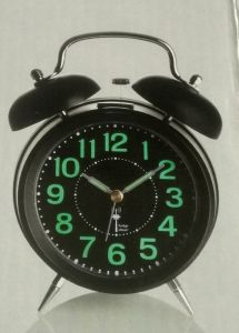 Radio Controlled Alarm Clock Classical Style with Light (KV206R)