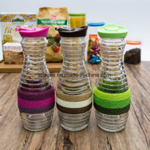 Factory Wholesale High Quality Colorful Water Olive Oil Juice Glass Bottle (100013) pictures & photos