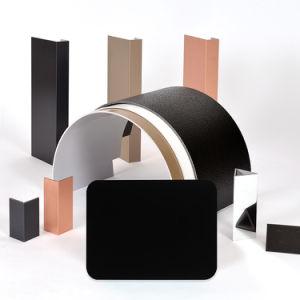 Aluis Interior 6mm Aluminium Composite Panel-0.06mm Aluminium Skin Thickness of Polyester Black pictures & photos