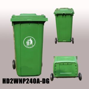 Cheap 120L 240L 360L Recycled Plastic Outdoor Dustbins pictures & photos