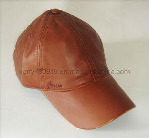 Fashional Leather Outdoor Baseball Cap/Sports Cap