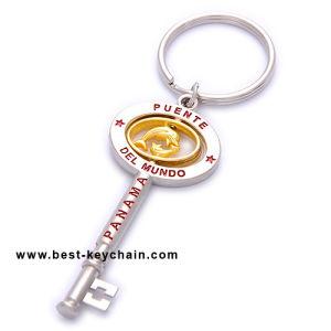 Zinc Alloy Metal Souvenir Jugoslavia Custom Key Shape Keychain (BK11393) pictures & photos