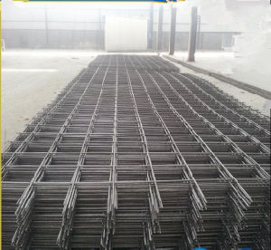 Building Ribbed Bar Welded Steel Reinforcing Mesh/Concrete Reinforcement Mesh pictures & photos