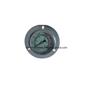 Flange Axial Connection Silicon Oil Manometer