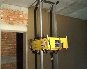 Cement Plastering Machine for Inside Wall pictures & photos