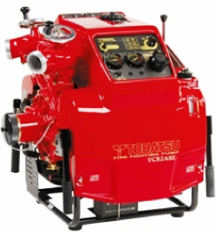 Tohatsu Portable Fire Pump Vc82as