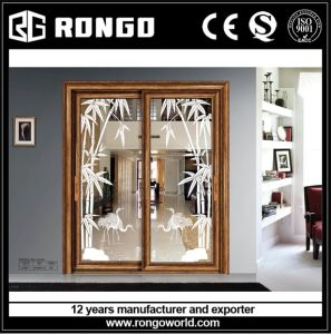 Aluminum Sliding Door Cheap Price by China Exporter
