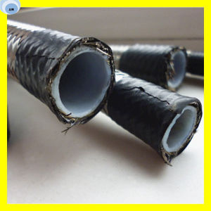High Temperature PTFE Hose with Steel Wire Braided pictures & photos