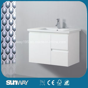 Wall Hung Design Bathroom Cabinet with Good Quality (SW-FPWH900) pictures & photos