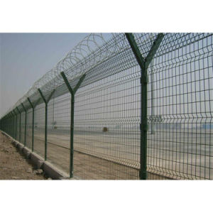 PVC Coated Welded Mesh Fence pictures & photos