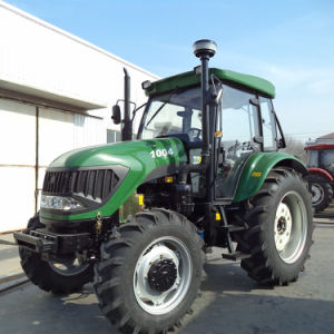100HP Farm Tractor with Front Loader pictures & photos
