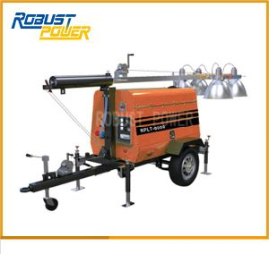 Mobile Manual Diesel Lighting Tower pictures & photos