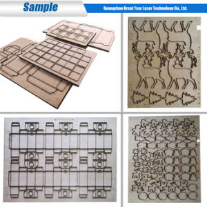 Great Year Laser 15-22mm Plywood Flat Die Board Laser Cutting Machine pictures & photos
