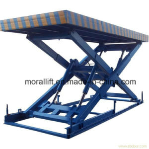 Hydraulic Parking Car Lift with Scissor Lifting pictures & photos