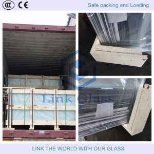 3.2mm Tempered Extra Clear Glass for Solar Collector Cover pictures & photos