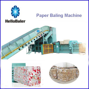 Hellobaler 10-14t/H Automatic Baling Machine for Waste Paper (HFA10-14) pictures & photos
