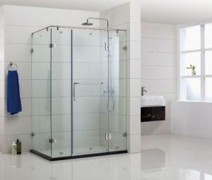 Frameless Hinge Rectangular Shower Enclosure (WLZ-001)